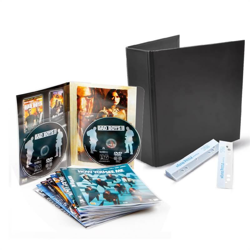 50 double DVD sleeves incl. 2 binders. Buy here
