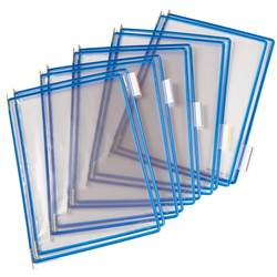 Pivoting Pocket Packs blue 10 pcs