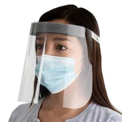 Protective Full-Face Shield for Face and Eyes