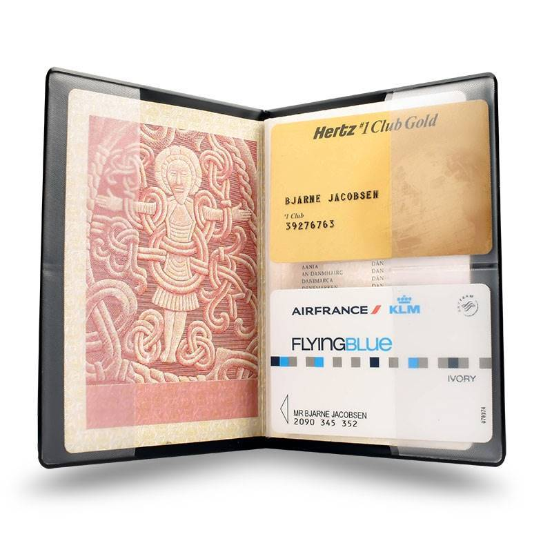 RFID secured Passport case