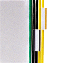 Clip-On Index Tabs, assorted - 10 pcs.